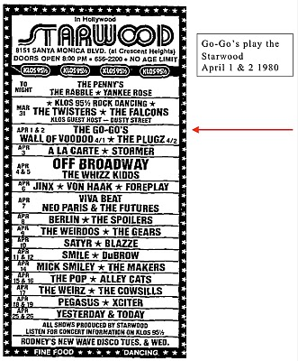 starwood playbill