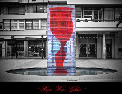 huge wine glass tokyo