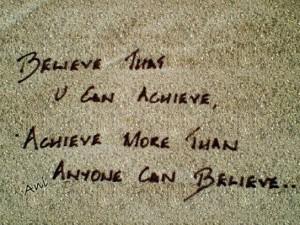 achieve what