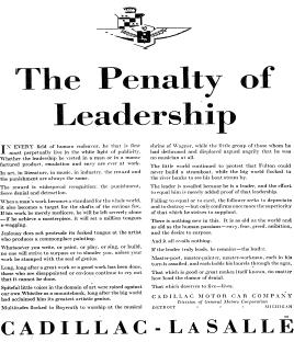 The Penalty of Leadership – My Thoughts