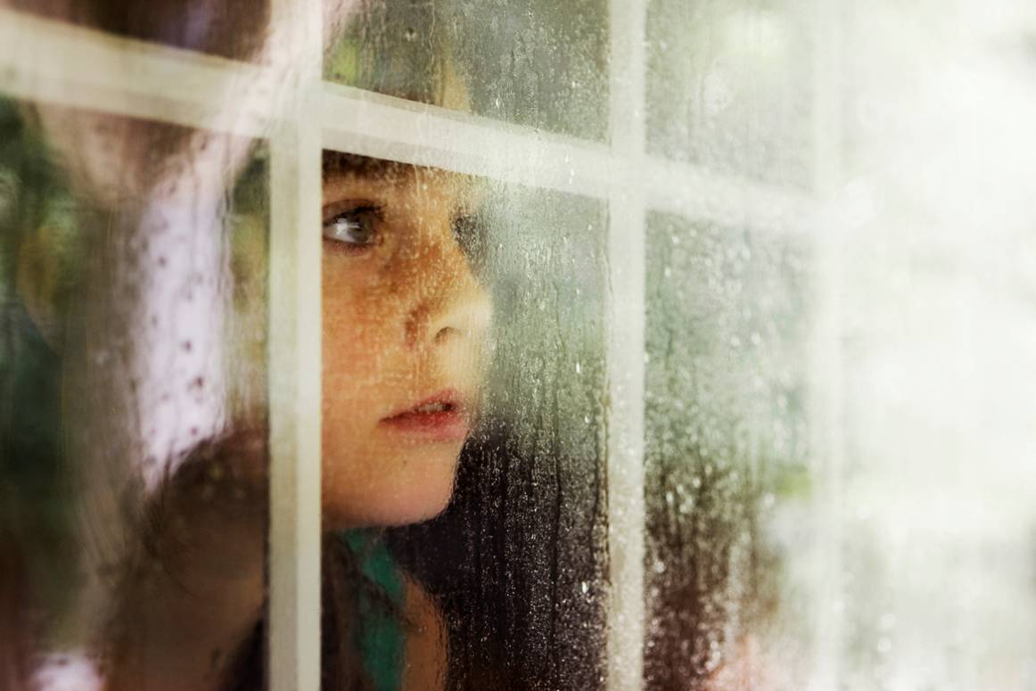 Boy looking out window quotes for Outer look of house