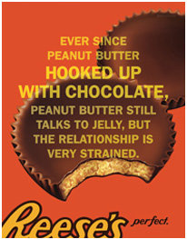 Tag Archives: Reese's peanut butter cups