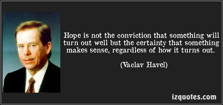 conviction vaclav havel