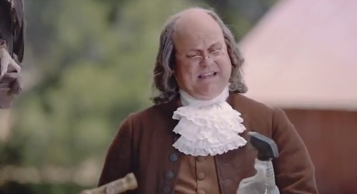 Clorox Ben Franklin