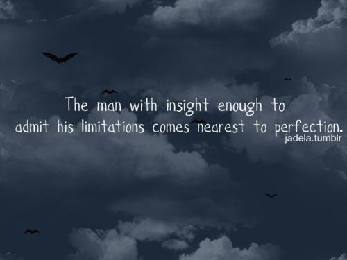 limitations perfection