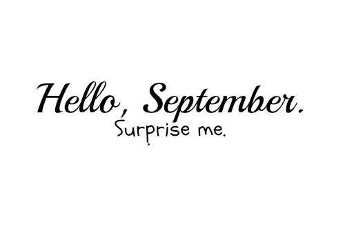 september surprise me