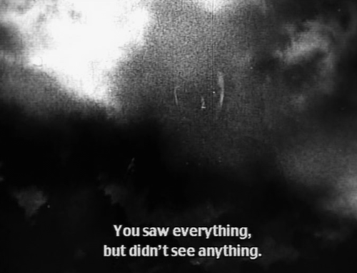 seeing is seeing didnt see anything