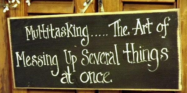 multi tasking chalkboard