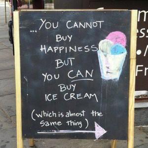 choice happiness ice cream