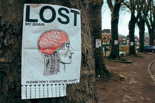 lost brain