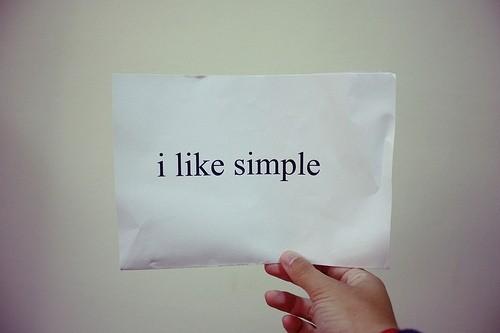 simple i like