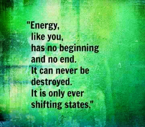 beginning energy continuous