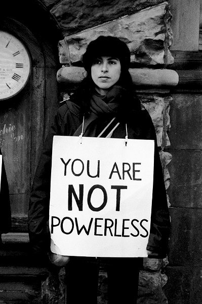 ignorance and indolence You-are-not-powerless
