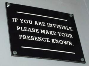 invisible presence
