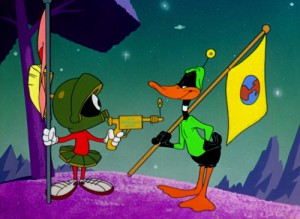 marvin and daffy earth
