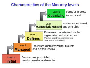 organizational maturity Characteristics_of Model