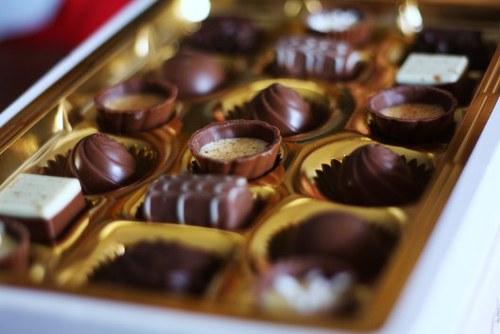 chocolate box of