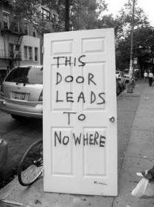 door leads nowhere