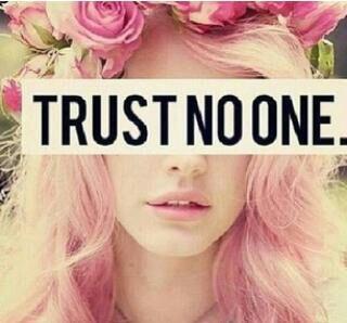 trust nobody | Enlightened Conflict
