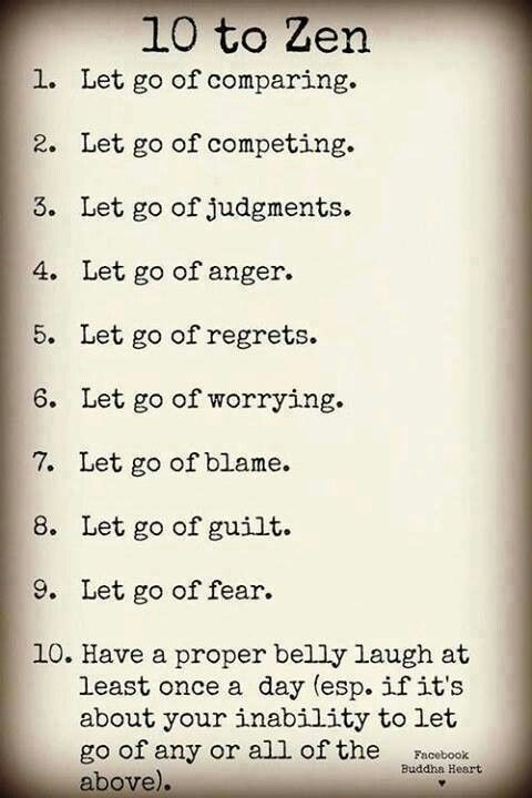 guilt free list