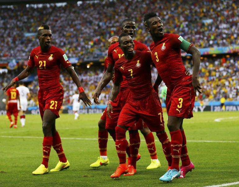 soccer ghana dance
