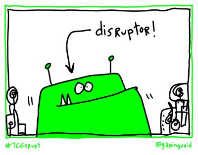 disrupt disruptor