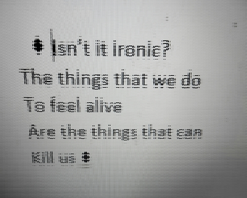 alive can kill us