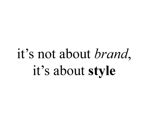 brand style