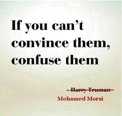 confuse convince