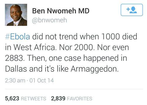 ebola perspective