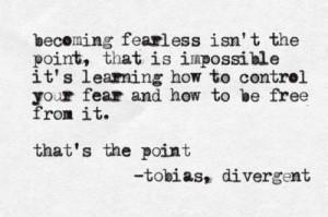 fearless controlling fear