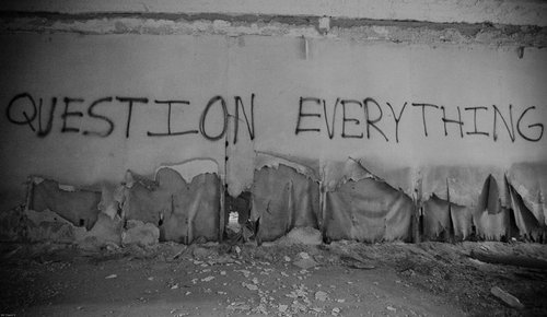 question everything graffiti