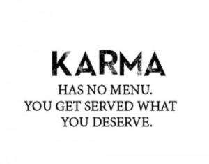 deserve karma