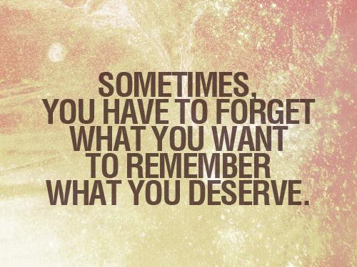 deserve want