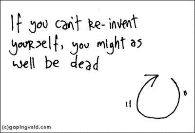 start over reinvent self
