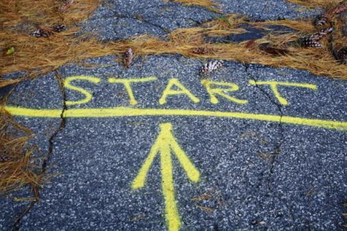 try start line start over