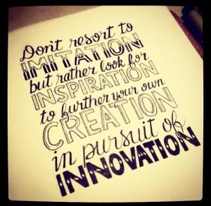 innovation imagination