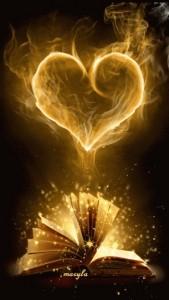 reading love haert