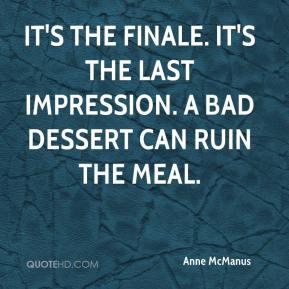 last impression dessert