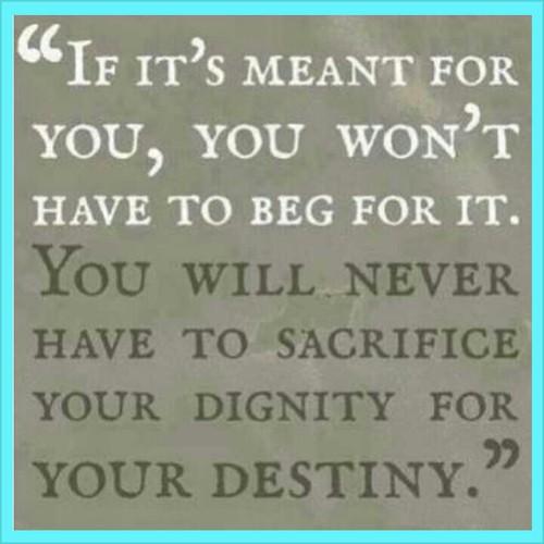 dignity destiny