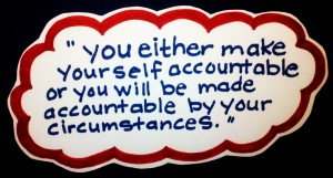 accountability quote