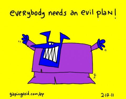 evil plan hugh