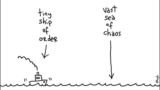 order chaos consistent hugh
