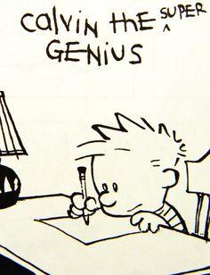 genius calvin