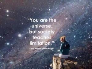 limits universe society
