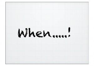 when word