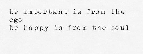 ego important