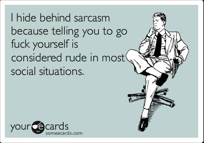 trump sarcasm rude