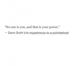 your power you distinct