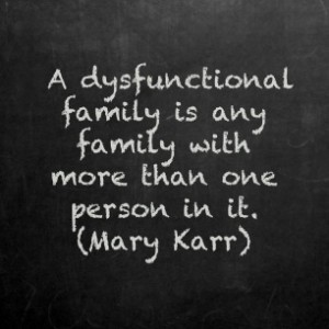 dysfunctional family people